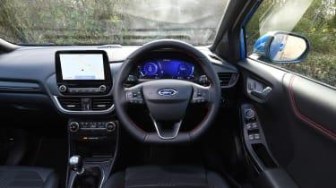 Ford Puma SUV interior