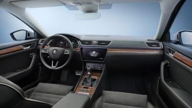 2019 Skoda Superb Scout - interior