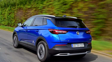 Economy ranges from 55-70mpg, so no Grandland X should be expensive to run