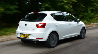 Mechanical underpinnings are shared with the VW Polo, Skoda Fabia and Audi A1