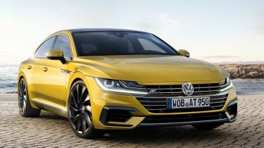 The Volkswagen Arteon will impress with cutting-edge driver assistance technology