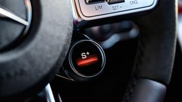 Mercedes-AMG CLA 45 saloon steering wheel