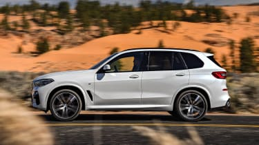 BMW X5 fly-by