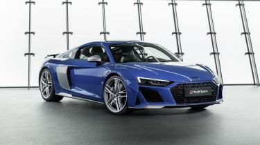 2019 Audi R8 Coupe front