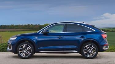 Audi Q5 Sportback SUV - side on view