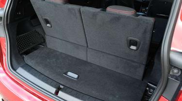 BMW 2 Series Gran Tourer boot - all seats up