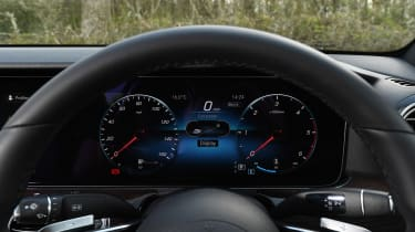 Mercedes E-Class saloon instrument panel