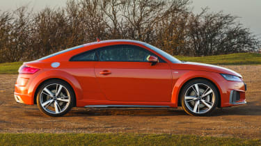Audi TT Coupe side