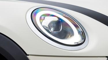 MINI 5-door hatchback headlight
