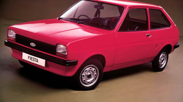 The Ford Fiesta first hit the market in Europe in 1976