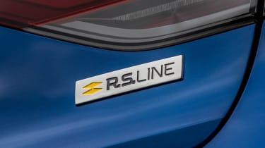 Renault Megane hatchback badge