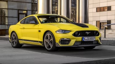 2021 Ford Mustang Mach-1 in Grabber Yellow