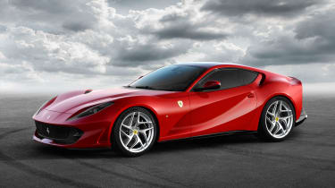The Ferrari 812 Superfast has one of the world's most powerful production engines
