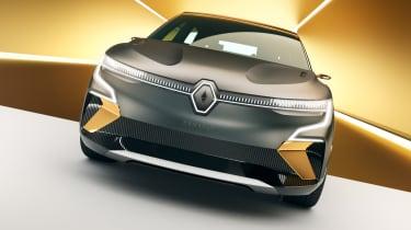 Renault Megane eVision concept front end