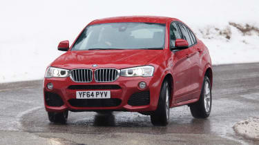 The 3.0-litre diesel xDrive30d and xDrive35d models are much faster, with 255 and 309bhp