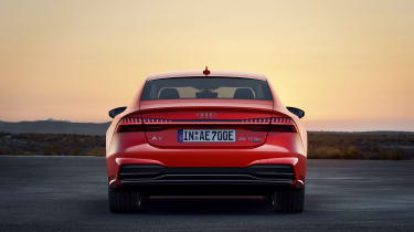 Audi A7 plug-in hybrid rear end