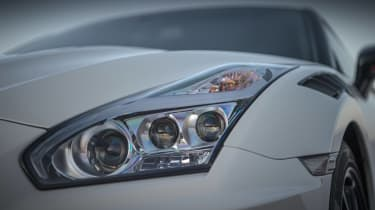 Nissan GT-R Nismo coupe headlights