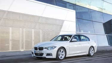It competes directly with the Mercedes C-Class C350e plug-in hybrid.