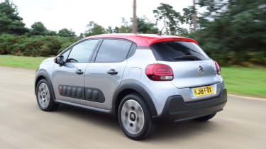 Citroen C3 - rear 3/4 dynamic