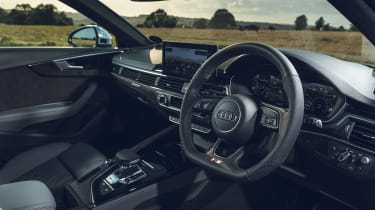 Audi S4 Avant estate interior