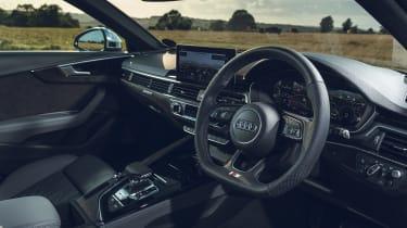 Audi S4 Avant estate interior