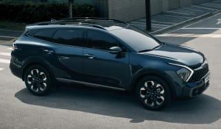 2021 Kia Sportage - front 3/4