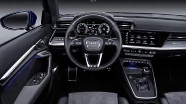 2020 Audi A3 Sportback - interior and dashboard