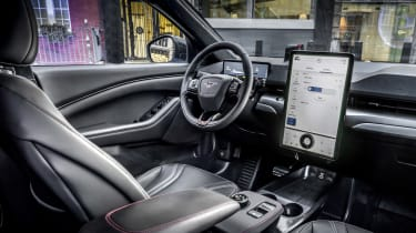 2020 Ford Mustang Mach-E in London - interior dashboard