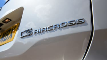 Citroen C5 Aircross SUV rear badge