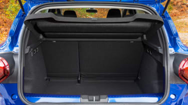 Dacia Sandero hatchback boot