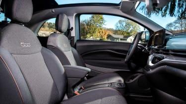Fiat 500 hatchback front seats
