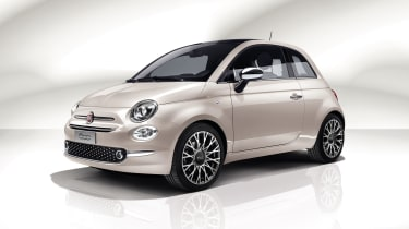 Fiat 500C Star - front quarter low