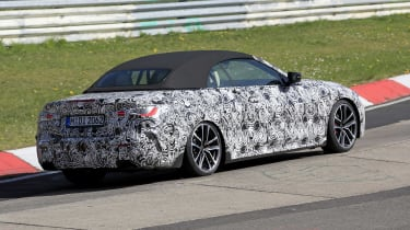 BMW 4 Series Convertible - rear view
