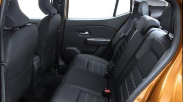 New Dacia Sandero Stepway rear seats