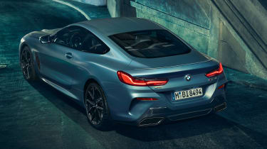 bmw M850i xdrive first edition rear
