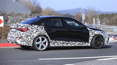 2021 Audi RS3 saloon prototype - side view