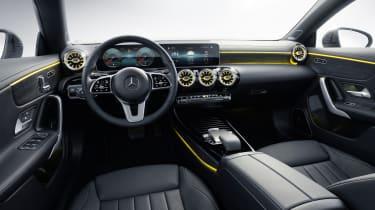 2019 Mercedes CLA Shooting Brake - interior