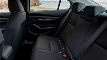 Mazda3 Fastback saloon rear seats