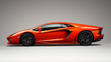 With up to 740bhp on tap, the Aventador is Lamborghini's flagship car