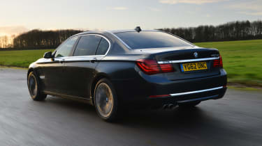 BMW 7 Series - rear 3/4 driving