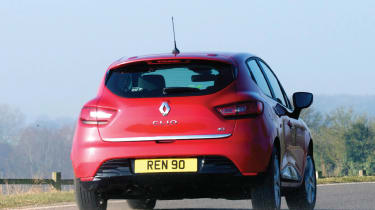 Renault Clio rear