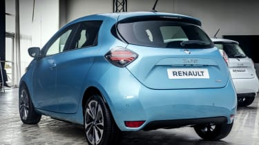 New Renault ZOE - rear 3/4 view