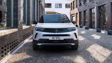 2021 Vauxhall Mokka SRi - front on static