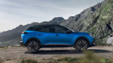 New Peugeot 2008 - side view