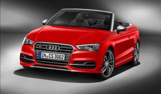 Audi S3 cabriolet 2014 front quarter static