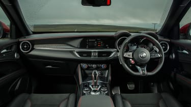 Alfa Romeo Stelvio Quadrifoglio SUV - dashboard and interior