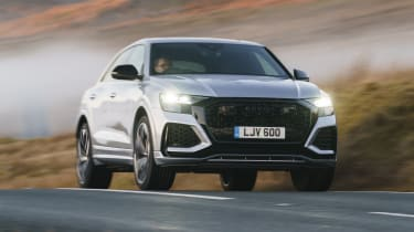 Audi RS Q8 SUV - front 3/4 dynamic