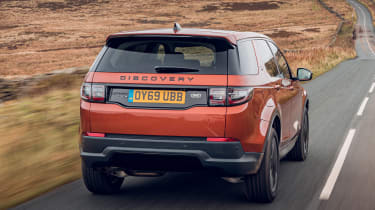 Land Rover Discovery Sport rear driving
