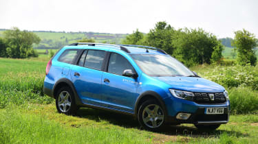 Dacia offers the Logan MCV Stepway with a 0.9-litre turbo-petrol and a 1.5-litre diesel engine, both producing 89bhp