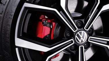 2021 Volkswagen Polo GTI - alloy wheel detail